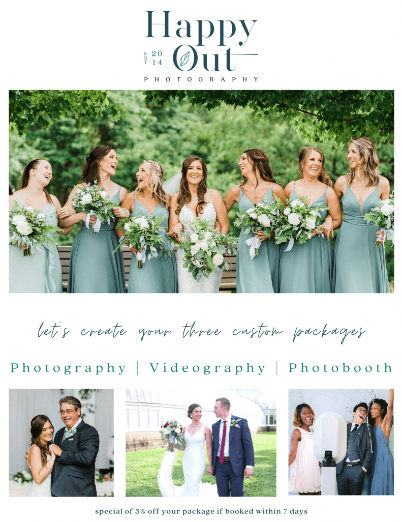 Happy Out Photography Flyer